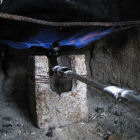 A biogas stove
