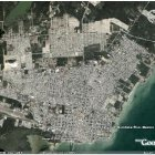 Google Earth satellite image of Chetumal