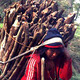 Women carrying wood in Nepal