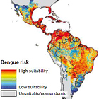 Mapa de riesgo de dengue 