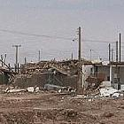Earthquake damaged buildings in Bam, Iran