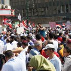 Protests in Tahir Square, Cairo 
