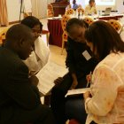 Participants at the Kampala workshop share ideas