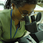Scientist in Kenya