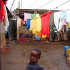 Boy in Kenyan slum
