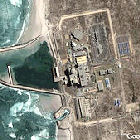 An aerial view of South Africa's Koeberg nuclear power station