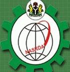 The NASRDA logo