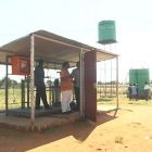 Madibogo, south Africa, nanotech water plant