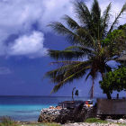 Marshall Islands coastline