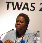 Naledi Pandor at TWAS meeting