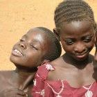 two african children