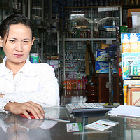 A pharmacy in Cambodia