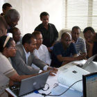 Training session at Ethiopia's National Meteorology Agency