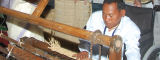 Shri Y Mangi Singh from Manipur, India invented a kouna grass mat-weaving machine - SRISTI, Ahmedabad