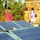 Small loans let poor people buy solar panels