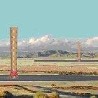 Artist's impression of the proposed solar tower for Namibia