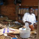 Traditional medicine seller
