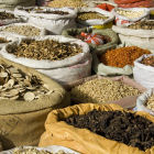 Traditional medicine market in China