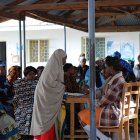 A women's clinic in Tanzania